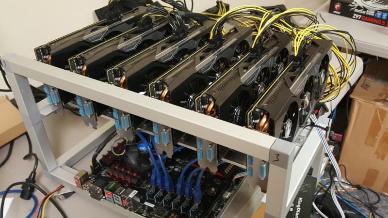 Ethereum mining farm project